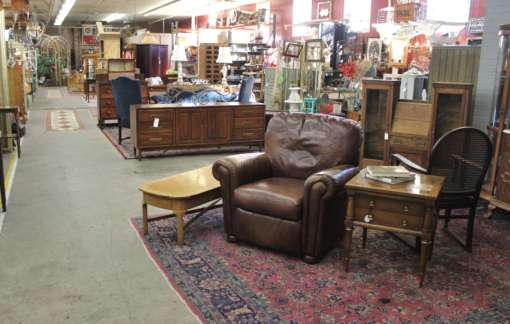 ... dining room chairs, plush chairs, couches, clocks, armoires, and more!  Look no further for your antique furniture adventure in Portland, Oregon. - Antique Furniture Portland- Monticello Antique Marketplace
